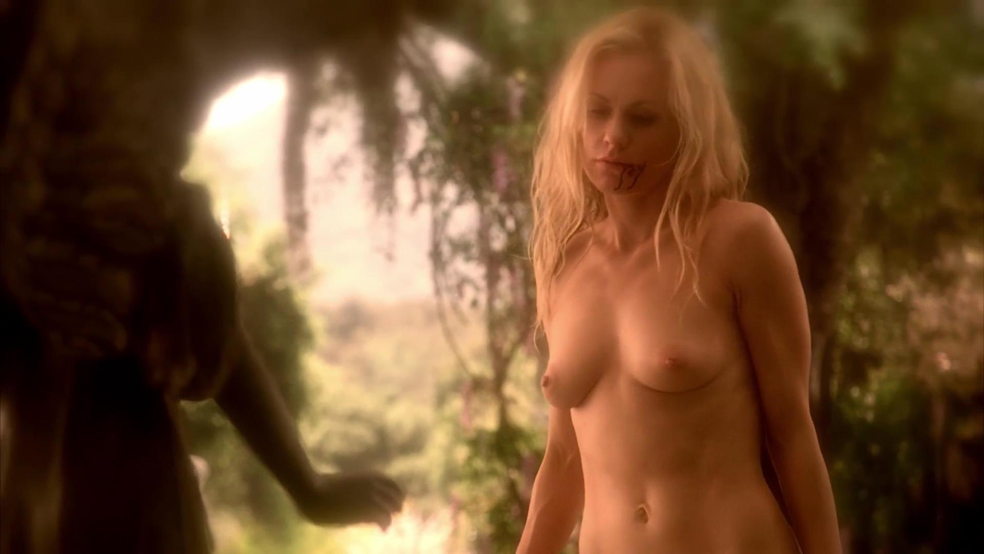Anna paquin riding a guy in true blood series